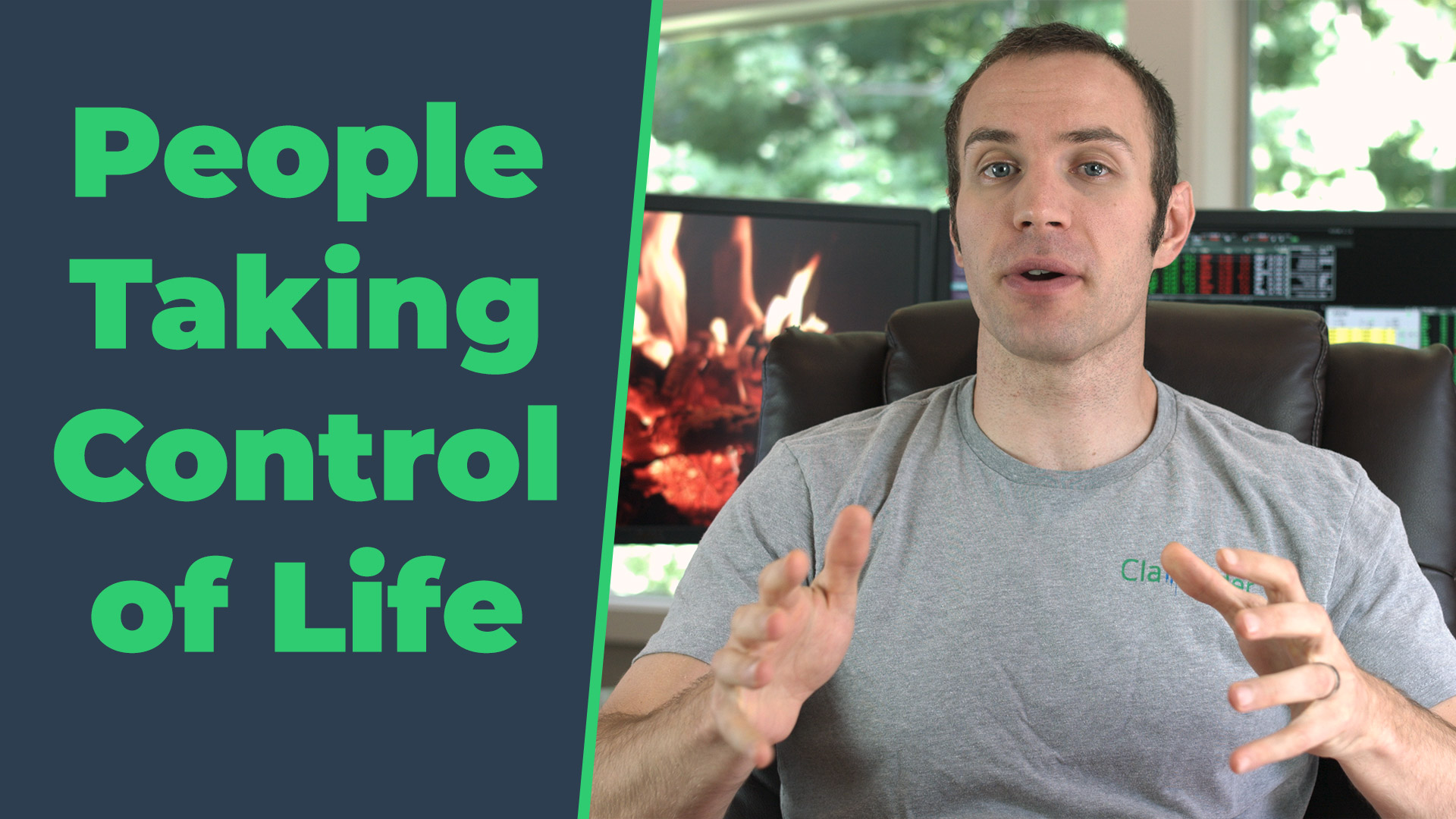 People Taking Control of Life
