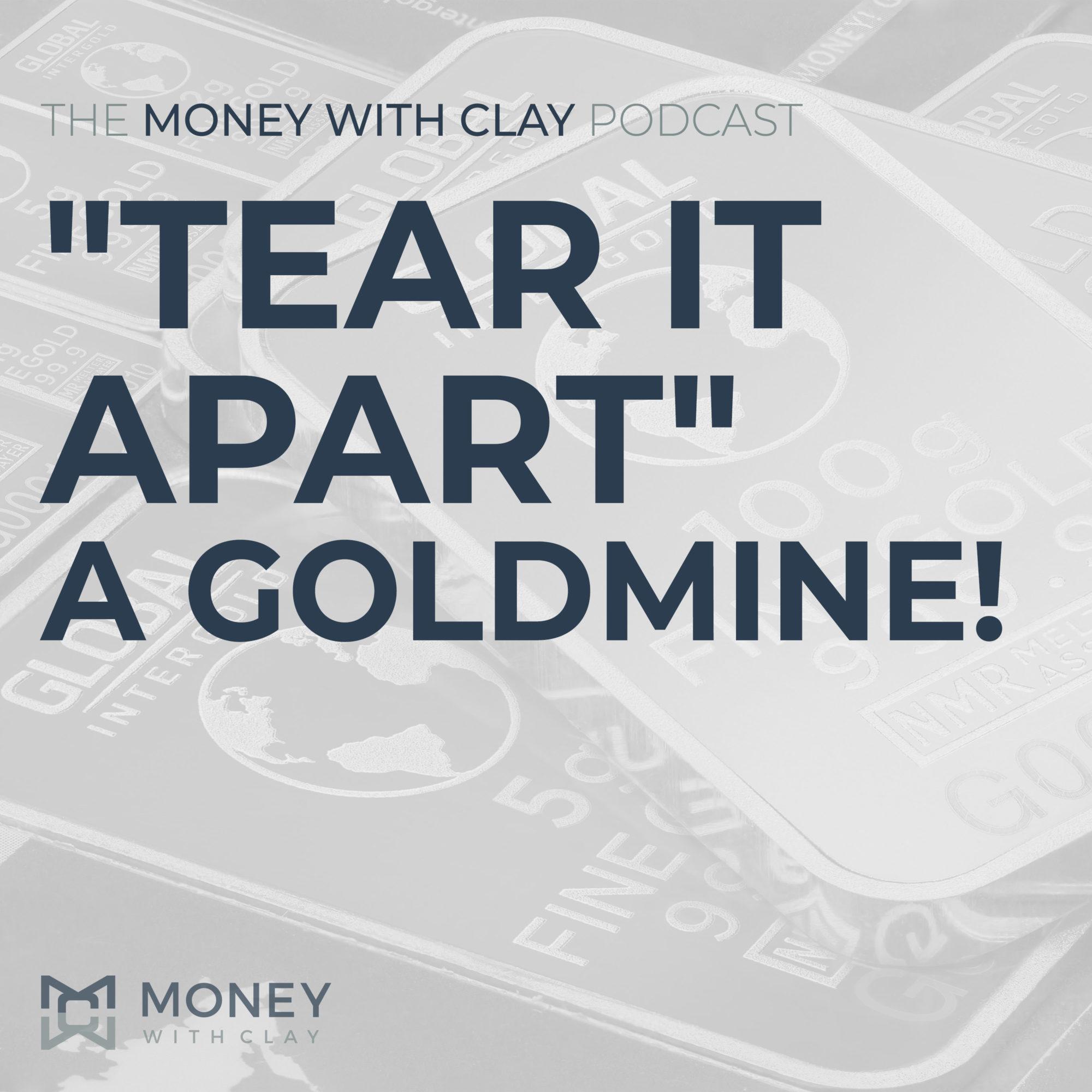 """Tear It Apart"" - A Goldmine! | #098"